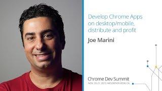 Download Develop Chrome Apps on desktop/mobile, distribute and profit - Chrome Dev Summit 2013 (Joe Marini) Video