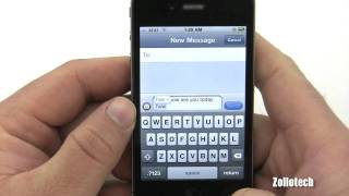 Download iPhone 4 Texting Overview Video