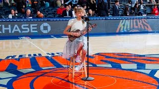 Download Grace VanderWaal - Riptide & Light The Sky (Live at the NY Knicks Halftime Show) Video
