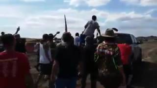 Download White Woman Tries to Sik (Sikk?) Dog on Native Americans at Standing Rock Video