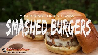 Download Smashed Burger Recipe - How To Make Smashburgers On The Weber Kettle And Drip 'N Griddle Easy Video