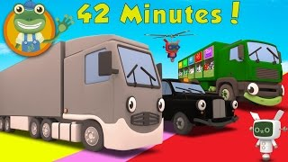 Download Larry The Lorry and More Big Trucks For Children | Gecko's Garage Video