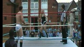 Download 'Mr Clean' Anton Green vs 'Cowgirl' Lucy Clayden (St Mark's Summer Fete) Video