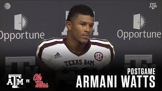 Download Ole Miss Postgame   Armani Watts 11.18.17 Video