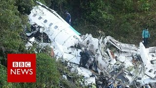 Download Chapecoense air crash: (Audio)'We are without fuel' - BBC News Video