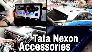 Download Tata Nexon Accessories with 10 inch Android System!! Video
