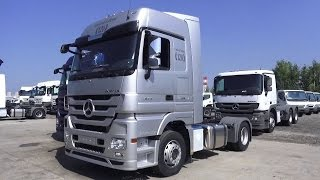 Download 2016 Mercedes-Benz Actros 1844 LS 120 Limited Edition. Start Up, Engine, and In Depth Tour. Video