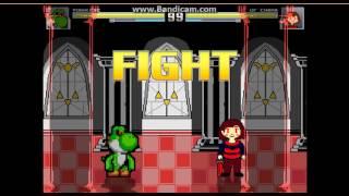 Download mugen Yoshi.exe vs Undertale Bosses part 2 Video
