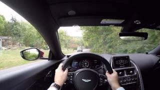 Download 2017 Aston Martin DB11 POV Test Drive Video