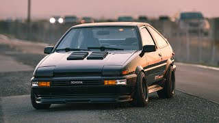Download Building an AE86 Hachiroku in 12 Minutes Video