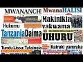 Download Magazeti ya Leo Jumatatu 4/9/2017.Makinikia Yakwama Video