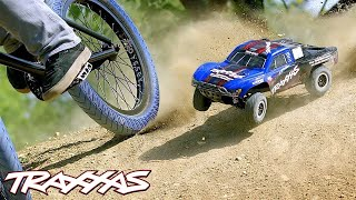 Download RC vs. BMX Freestyle | Traxxas Slash 4X4 Video