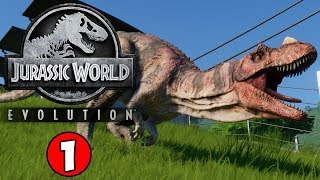 Download LIFE FINDS A WAY! Jurassic World Evolution Gameplay #1 Video