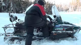 Download Yamaha Viking VK540 Cold sart minus 26 Video