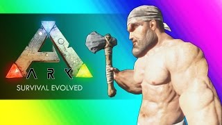 Download Survival of the Freaks & Dinosaurs! (Ark Survival Evolved Funny Moments) Video