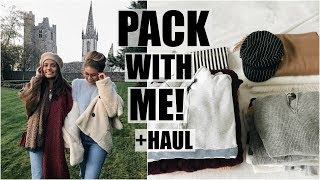 Download Pack With Me For Ireland // Huge Fashion Haul Video