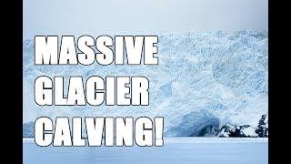 Download 10 story Massive glacier calving! Aialik Glacier in Alaska! Video