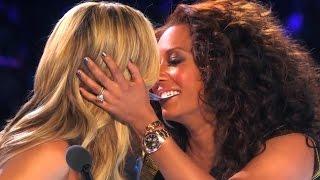 Download America's Got Talent Finals YOUNG MAGICIAN GETS HEIDI & MEL B TO KISS | Collins Key Video