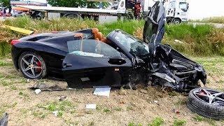 Download Ferrari 458 Crashes on the Mille Miglia Video