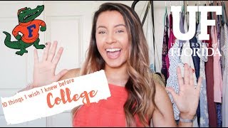 Download 10 things I wish I knew before college! | University of Florida Video