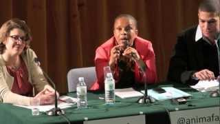 Download Video,, Christiane Taubira attends Sorbonne University Equal Rights Meeting, Paris, France Video