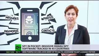 Download Pocket Spy: Israeli surveillance software 'Pegasus' tracked in 45 countries Video