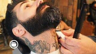 Download How to Maintain a Sharp Beard | Carlos Costa Video