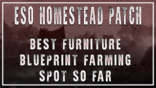 Download ESO   The Best Spot To Farm Furniture Blueprints   Homestead Patch Video