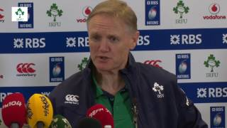Download Irish Rugby TV: Ireland v England Post-Match Press Conference Video