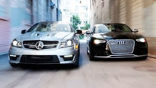 Download 2014 Audi RS5 vs 2014 Mercedes-Benz C63 507 Coupe! - Head 2 Head Ep. 51 Video