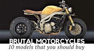 Download Top 10 Brutal Motorcycles with Custom Bike Designs and Overpowered Engines Video