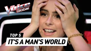 Download BEST 'IT'S A MAN'S WORLD' covers in The Voice Kids Video