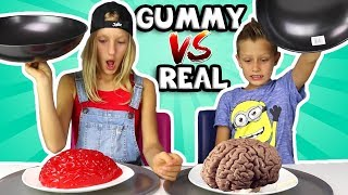 Download ALL GUMMY vs REAL IN ONE VIDEO!!!!!! Video