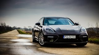 Download 2017 Porsche Panamera Turbo - hard acceleration, startup and sound Video
