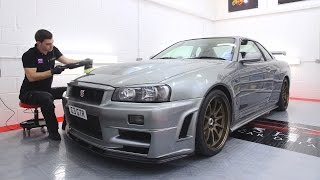 Download NISSAN SKYLINE R34 GTR DETAILING Video