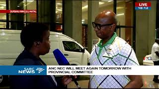 Download Latest update on meeting between ANC top 6 and KZN branch leaders Video