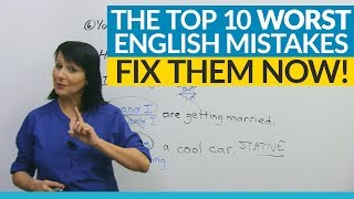 Download The 10 WORST English mistakes you're making! Video