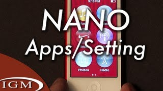 Download iPod nano apps and settings - A quick tour Video