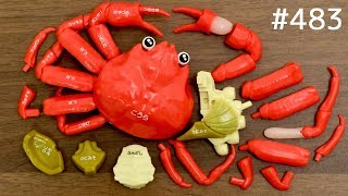 Download 蟹!カニ!かに!ズワイガニ解体パズル / Snow Crab Dissection Puzzle. Japanese Toy Video