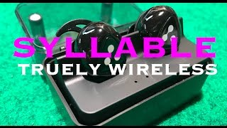 Download TRUELY WIRELESS EARBUDS BY SYLLABLE D900 MINI Video