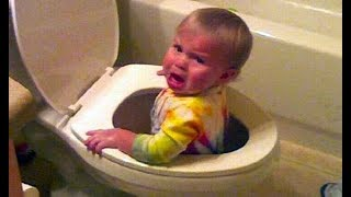 Download It's DANGEROUS TO WATCH You Can DIE from LAUGHING - Funny Babies Compilation Video