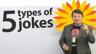Download 5 types of jokes in English! Video