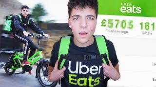 Download I Worked a Job At UberEats for a Week & Made £ Video