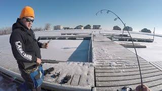 Download He Brought A SHOTGUN Ice Fishing.... Video
