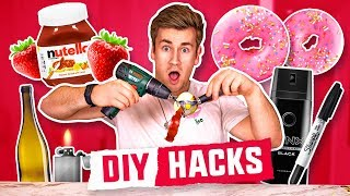 Download TESTING OUT THE ULTIMATE DIY FOOD HACKS Video