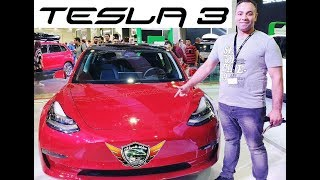 Download Tesla 3 Full Electric Car Review Video