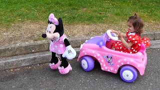 Download Ride on Pink Car / Kids Car Race Video