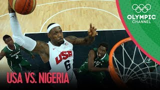 Download USA v Nigeria - USA Break Olympic Points Record - Men's Basketball Group A | London 2012 Olympics Video
