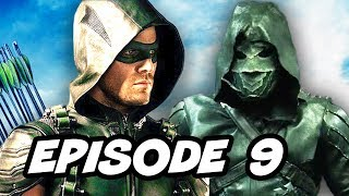 Download Arrow Season 5 Episode 9 Oliver vs Prometheus TOP 10 and Easter Eggs Video