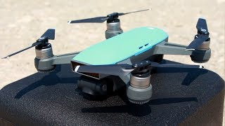 Download DJI Spark First Flight and Impressions Video